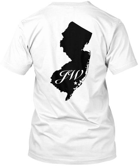 Jw White T-Shirt Back
