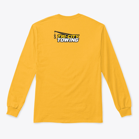 Rollback Gold T-Shirt Back