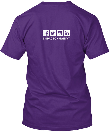 Som Kc Make Stuff T Shirt Purple T-Shirt Back