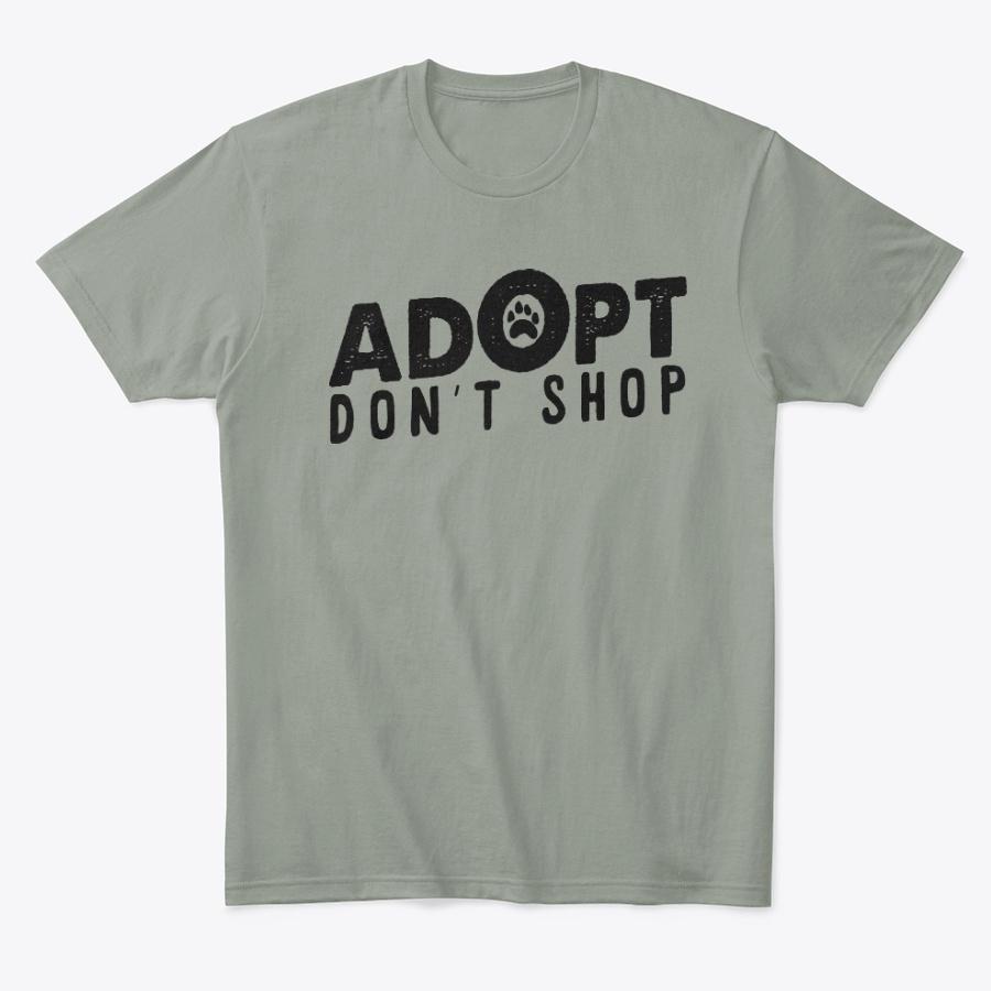 Adopt Dont Shop Dog Adoption Gift Unisex Tshirt