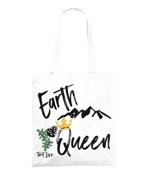 Earth Queen Tarot Love White T-Shirt Front