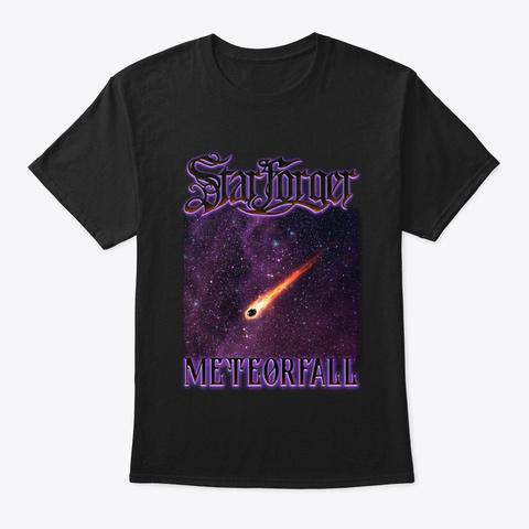Starforger   Meteorfall Tee Black T-Shirt Front