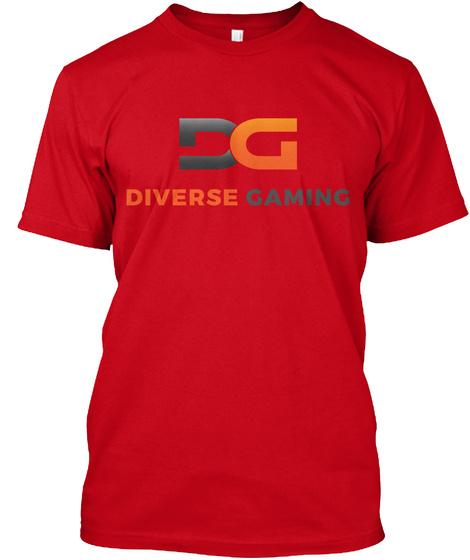 Dg T Shirt Red T-Shirt Front