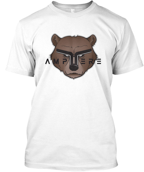 Ampere White T-Shirt Front