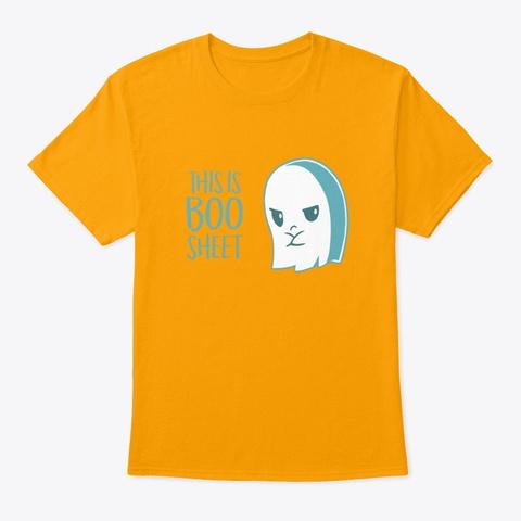 this is boo sheet shirt
