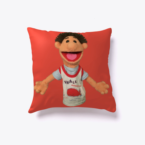 Timmy Uppet Pillow Red T-Shirt Front