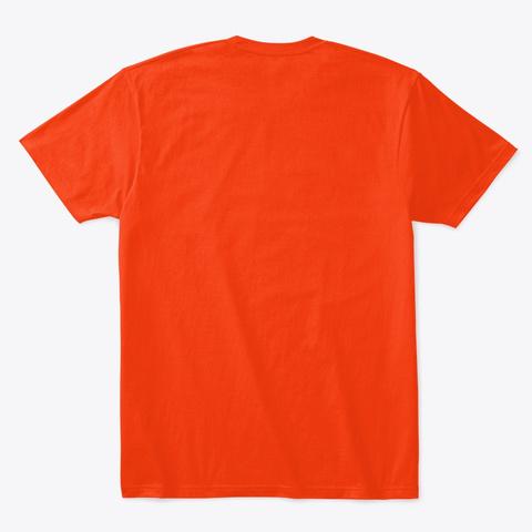 Faith   Hope   Love Deep Orange  T-Shirt Back