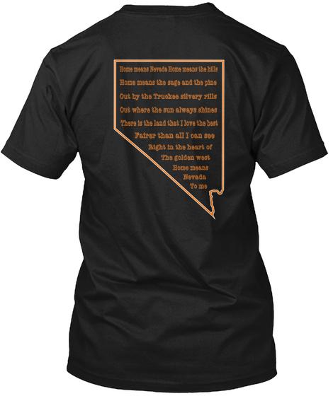 Not Latin Black T-Shirt Back