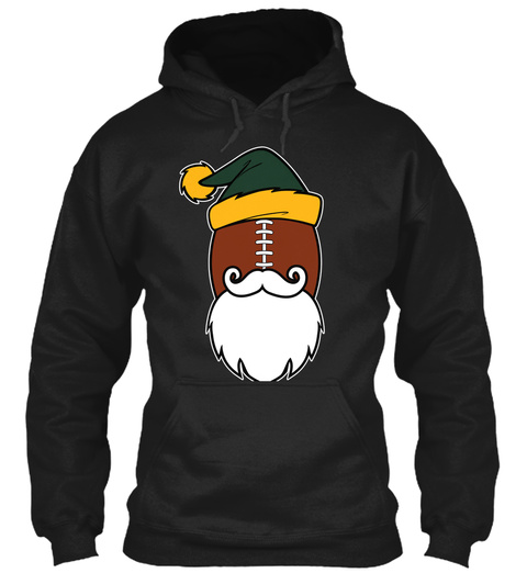 Title Town Santa Hoodies 🎄🎅🎁$29.99 😳 Black T-Shirt Front