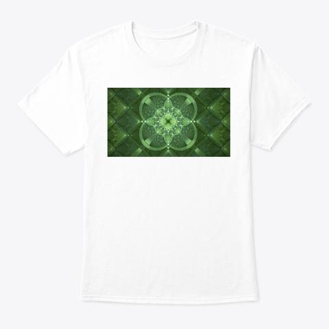Irish Art White T-Shirt Front