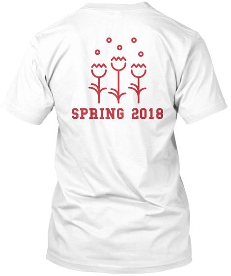Spring 2018 White T-Shirt Back