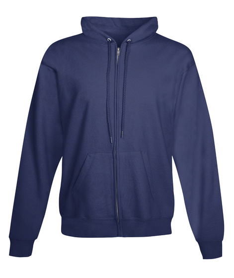 Magical Animal Zip Up Hoodie Navy  T-Shirt Front
