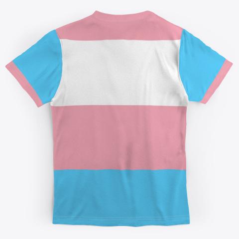 Trans Flag Standard T-Shirt Back