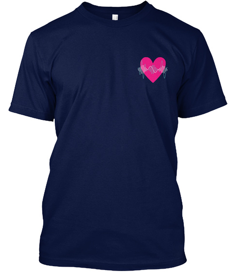 Counrty Cardiac Sonographer Navy T-Shirt Front