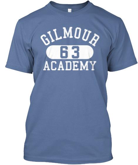 Gilour 63 Academy Denim Blue T-Shirt Front