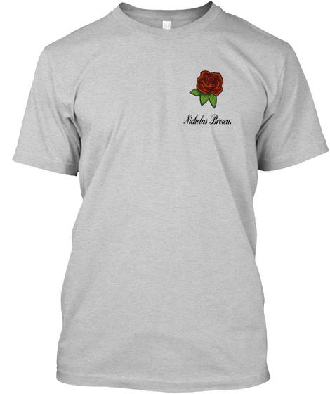 Nicholas Brown Light Steel T-Shirt Front