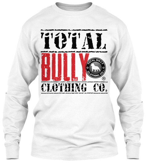 Total Clothing Co. White T-Shirt Front