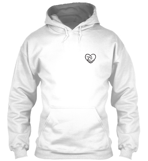 Perfect Caregiver Hoodie White T-Shirt Front