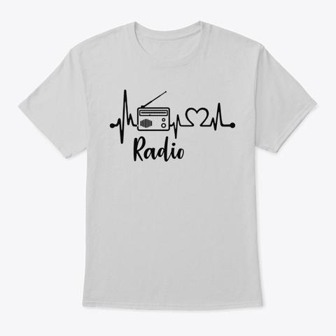 Hearts Radio Light Steel T-Shirt Front