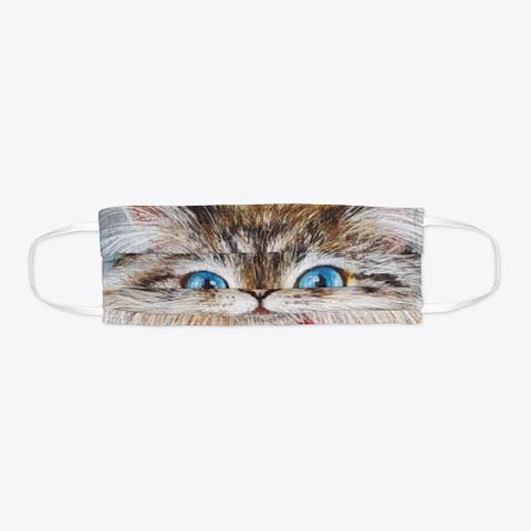 Cat Face Mask Standard T-Shirt Flat
