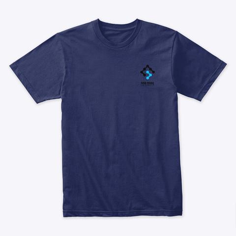 Gma Pocket Logo Midnight Navy T-Shirt Front
