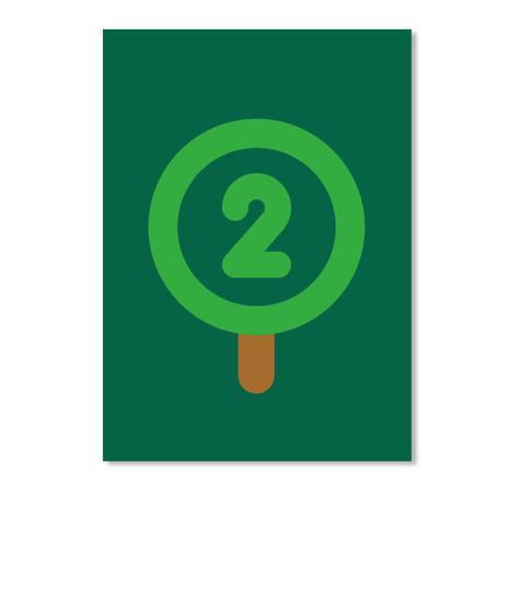 Oxygen Sticker [Usa] #Sfsf Forest Green Sticker Front