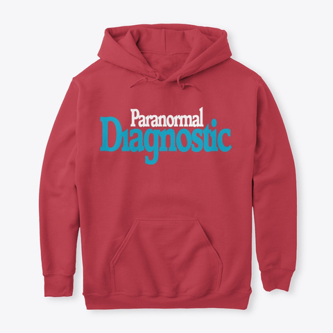 Paranormal Diagnostic Cpi Investigations Cardinal Red T-Shirt Front