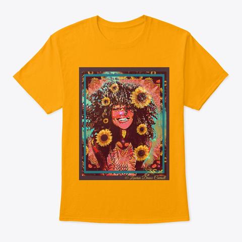 Sunny Daze Gold T-Shirt Front
