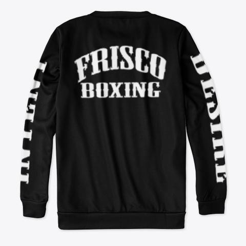 Frisco Boxing | Gentleman Jim Corbett  Black T-Shirt Back