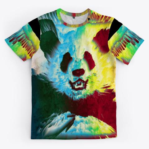Bc Cat Panda6288 Black T-Shirt Front