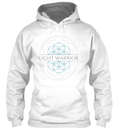 Light Warrior White T-Shirt Front