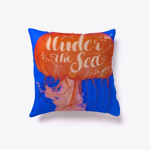 Under The Sea Jellyfish Standard T-Shirt Back