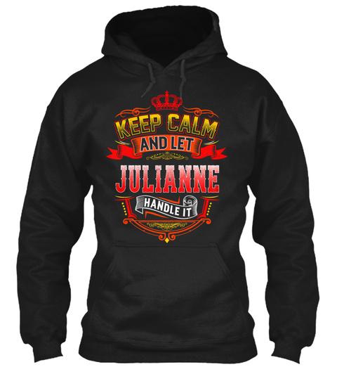 Never Underestimate The Power of Julieann Hoodie Black