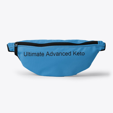 Ultimate Advanced Keto Fast Weight Loss Denim Blue T-Shirt Front