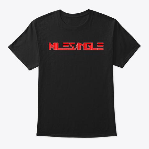 Miles/Ingle Black T-Shirt Front