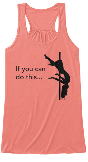 If You Can Do This... Coral Women's Tank Top Front