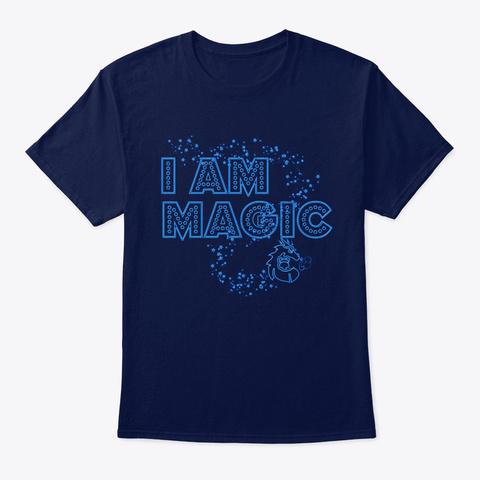 I Am Magic  Navy T-Shirt Front