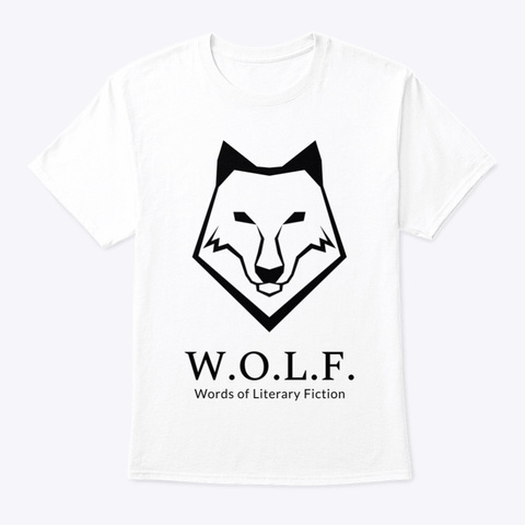W.O.L.F. T Shirt White T-Shirt Front
