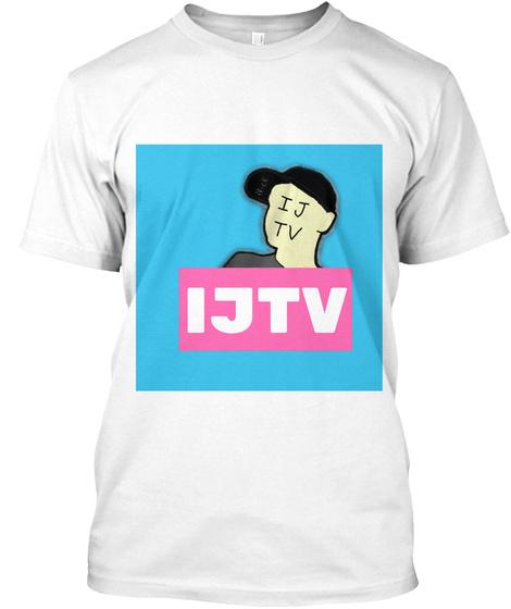 Ijtv Shirt White T-Shirt Front