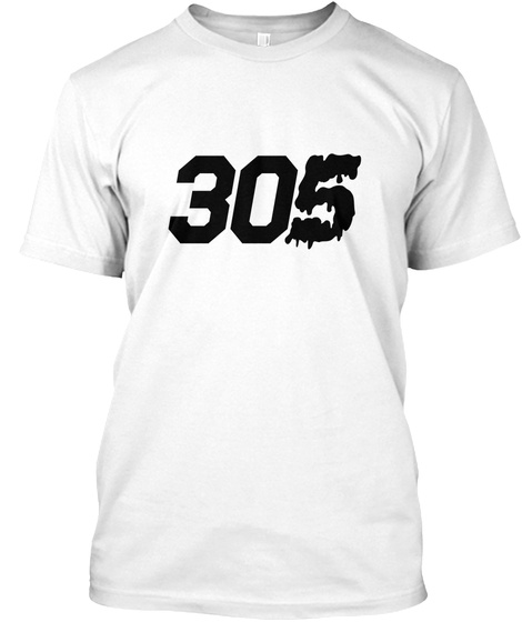 3 0 Dirty5ive Tee White T-Shirt Front
