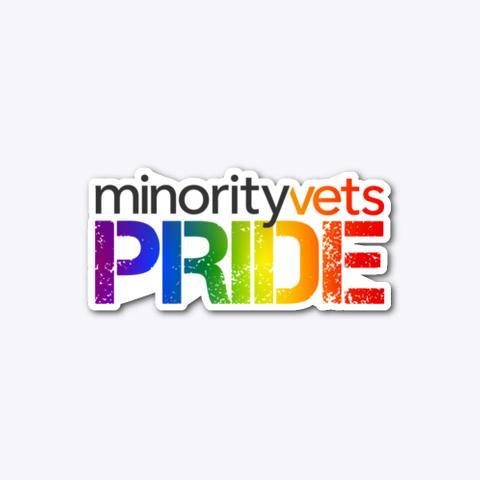 Minority Vets Pride Standard T-Shirt Front