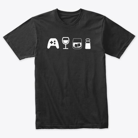 What's Good Emojis Vintage Black T-Shirt Front