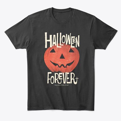 Halloween Forever Jak Black T-Shirt Front