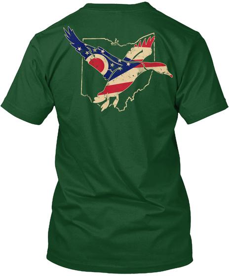 1116 Ohio Duck Hunter Waterfowl LongSleeve Tee