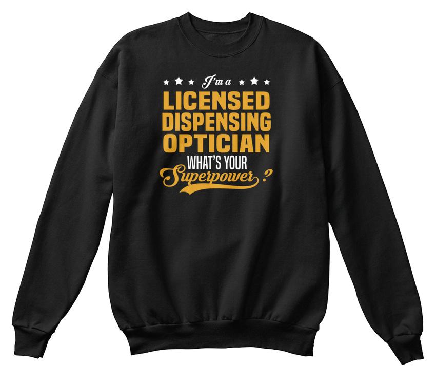 Licensed Dispensing Optician 2 Hanes Unisex Crewneck Sweatshirt Ebay
