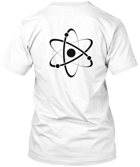 Simply Smart White T-Shirt Back
