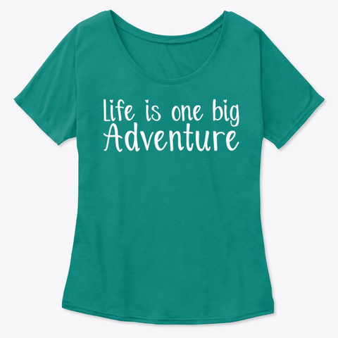 Adventure Girl Kelly  Women's T-Shirt Front