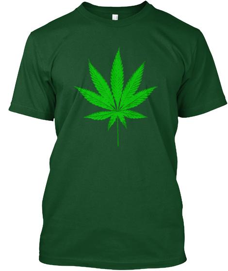 St.Patty Rollin A Fatty Deep Forest T-Shirt Front
