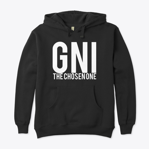 Gni The Chosen One Black T-Shirt Front