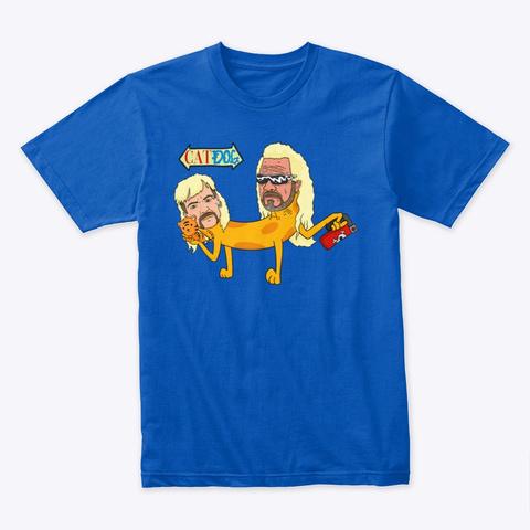 Cat Dog Royal T-Shirt Front